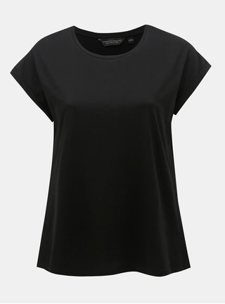 Čierne basic tričko Dorothy Perkins Curve