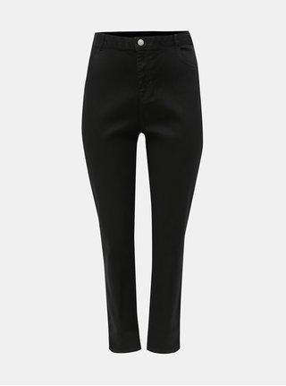 Černé skinny džíny s vysokým pasem Dorothy Perkins Curve Ashley 1a0df9da14