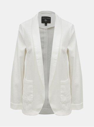Bílé sako s kapsami Dorothy Perkins