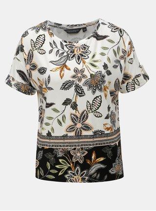 Bluza crem florala Dorothy Perkins
