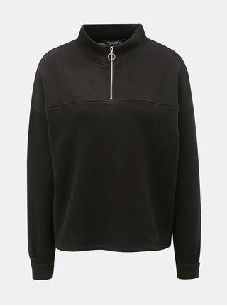 Bluza sport neagra cu guler inalt Dorothy Perkins
