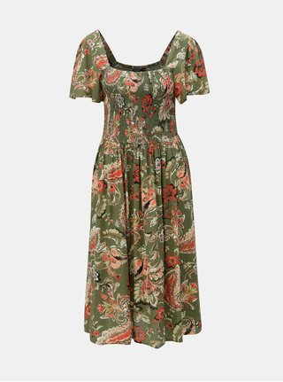 Rochie kaki florala Dorothy Perkins