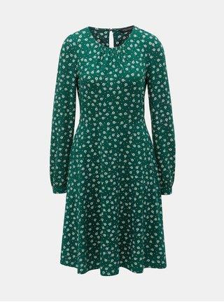 Rochie verde florala Dorothy Perkins