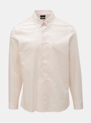 Camasa formala roz deschis skinny fit Burton Menswear London