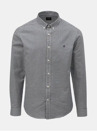 Bílo-modrá kostkovaná košile Burton Menswear London