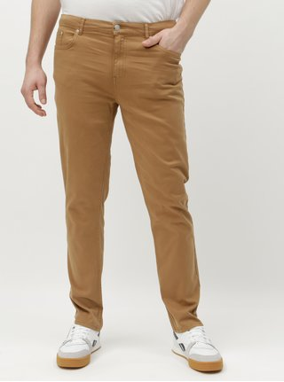 Blugi maro deschis slim Burton Menswear London