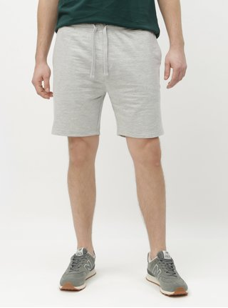 Pantaloni scurti sport gri deschis melanj Burton Menswear London