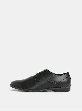 Černé pánské polobotky Burton Menswear London