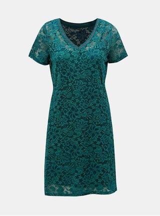 Tmavozelené čipkované šaty ONLY Amaze a5d26b9642c