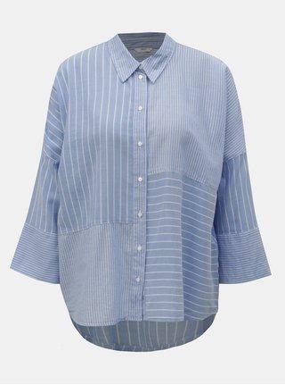 fcab3e3c567 Modrá pruhovaná košile ONLY Grace