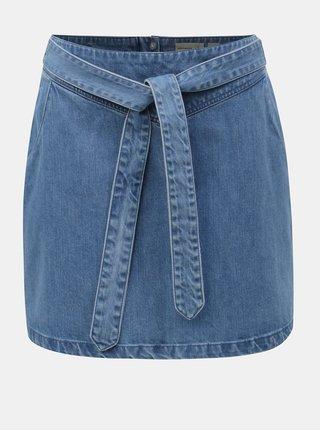 Fusta mini albastra din denim VERO MODA June
