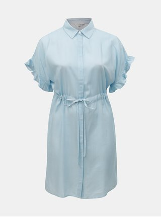 Bielo–modré pruhované košeľové šaty ONLY CARMACOMA Carvi