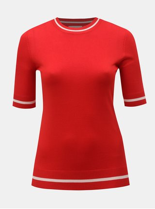 Červený svetrový top ONLY CARMACOMA Nam