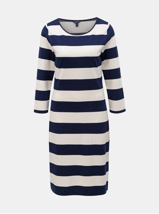 Bílo-modré pruhované šaty GANT
