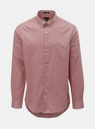Růžová pánská regular fit košile GANT