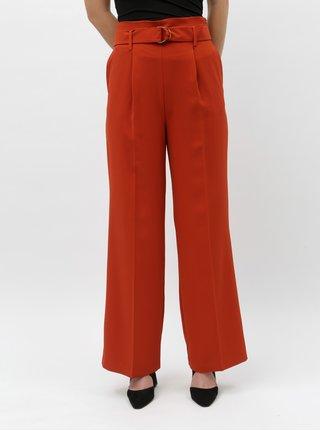 Pantaloni lati caramizii Miss Selfridge