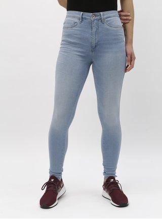 8c4ef44e56d Světle modré skinny džíny s vysokým pasem ONLY Royal