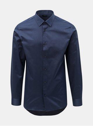 Tmavě modrá formální slim fit košile Selected Homme Pen-Pelle
