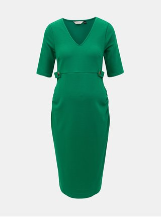 Zelené těhotenské šaty Dorothy Perkins Maternity c2d4048fd0d