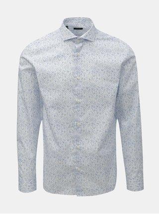 Modro-bílá vzorovaná košile Selected Homme Sel-Hart