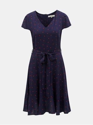 Tmavě modré šaty s motivem Billie   Blossom a64902ea57