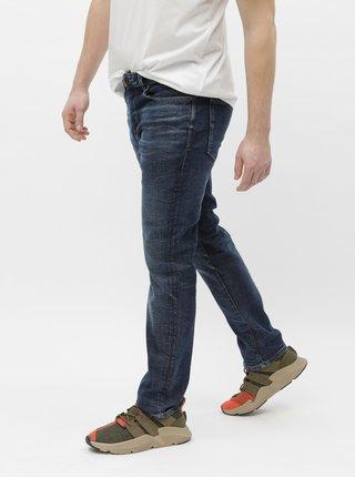 f3ae04a7af8 Tmavě modré slim džíny Selected Homme Leon