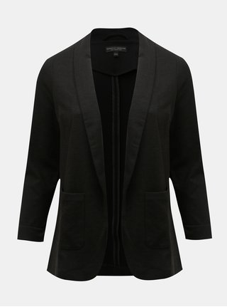 Černé sako s kapsami Dorothy Perkins Curve