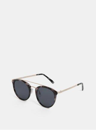 Ružovo–hnedé slnečné okuliare s gepardím vzorom Dorothy Perkins