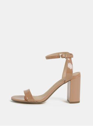 Sandale bej Dorothy Perkins