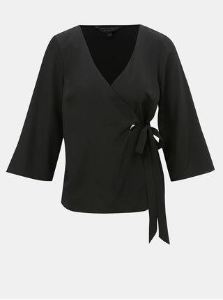 Bluza neagra suprapusa Dorothy Perkins