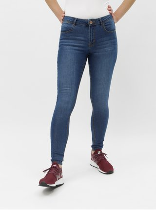 Modré skinny fit rifle Dorothy Perkins Bailey