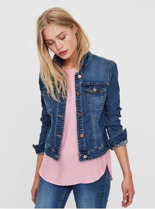 Jacheta albastra din denim Noisy May Debra