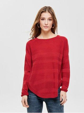 Červený tenký sveter ONLY Caviar