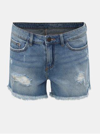 Modré džínové šortky Noisy May Fran