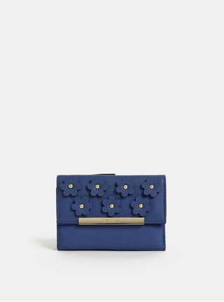 Modrá peňaženka s ozdobnými detailmi Bessie London