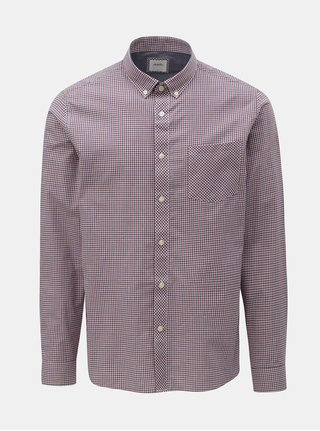 Camasa albastru-rosu in carouri Burton Menswear London