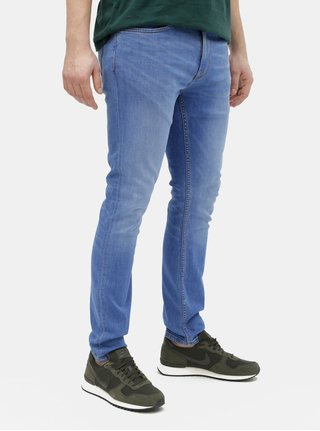 Blugi albastri skinny fit Burton Menswear London