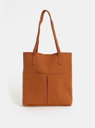 Geanta maro pentru shopping cu portofel Claudia Canova Adella