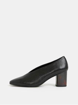 Pantofi negri din piele Vagabond Eve