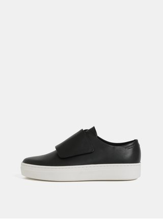 Pantofi sport negri de dama din piele Vagabond Camille