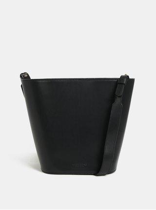 Čierna kožená crossbody kabelka Vagabond Alabama