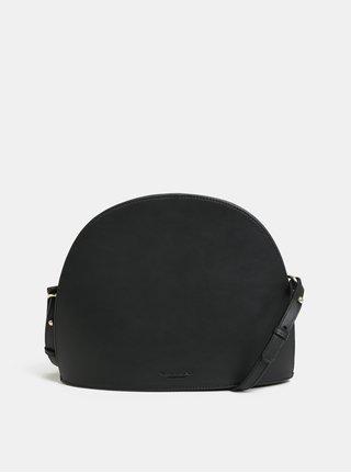 Čierna kožená crossbody kabelka Vagabond Shannon
