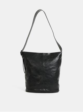 Čierna kožená kabelka Vagabond Stockholm