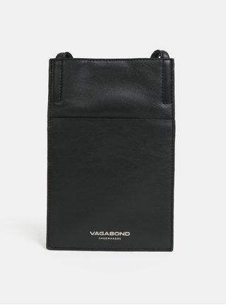 Čierne kožené puzdro Vagabond Skive