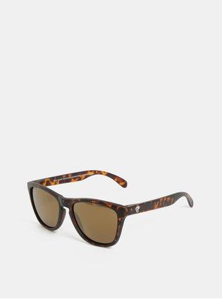 Hnedé vzorované slnečné okuliare CHPO Bodhi