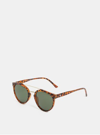 Hnedé vzorované slnečné okuliare CHPO Copenhagen