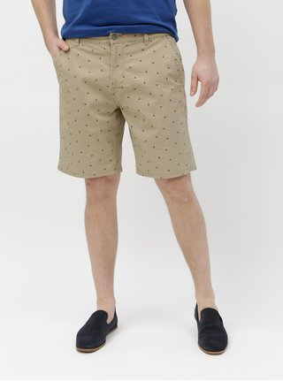 Pantaloni scurti bej cu model ONLY & SONS Holm