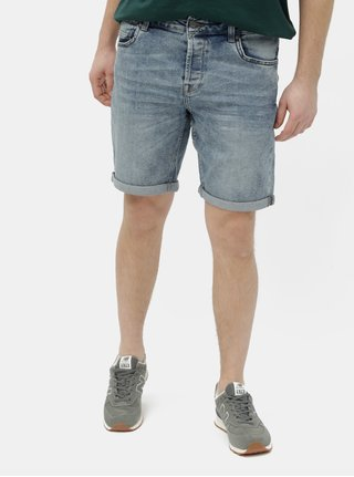 Pantaloni scurti albastri din denim ONLY & SONS Ply