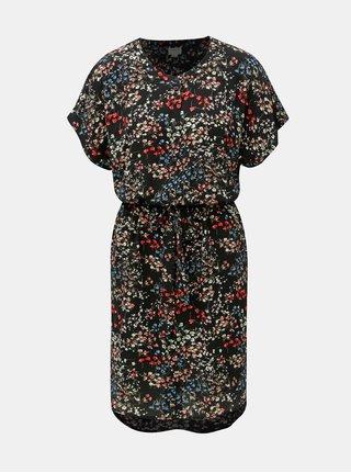 Rochie neagra florala Jacqueline de Yong Josephine