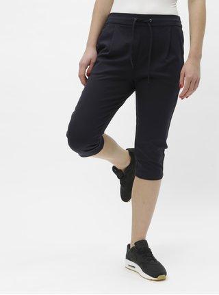 Pantaloni 3/4 albastru inchis VERO MODA Eva